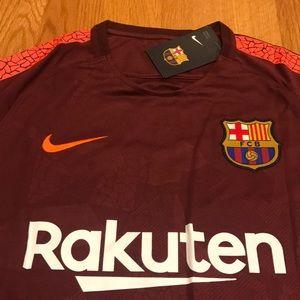 24553776b37 Shirts - MESSI Barcelona 3rd Soccer Jersey 2017 18 maroon